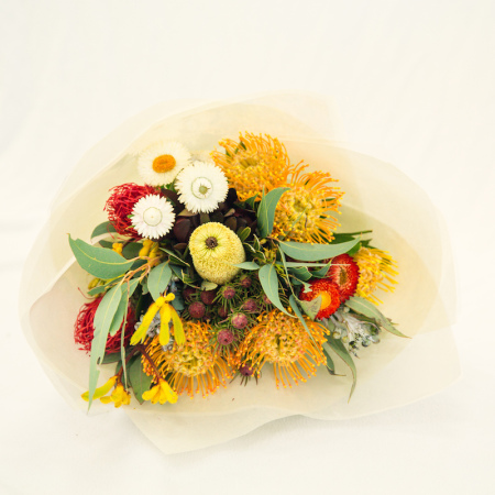 Seasonal native bouquet