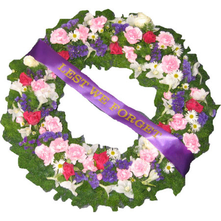 Funeral Flowers or Anzac Wreath