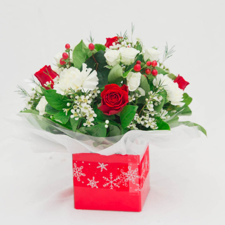 Christmas Box - Red And White