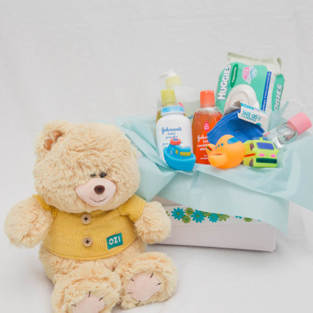 Baby Boy Product Box, Large Teddy.
