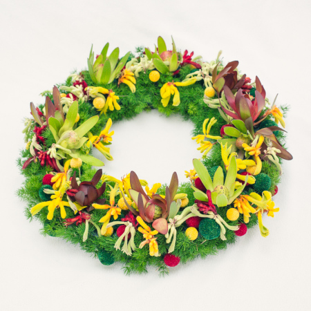 Funeral Flowers Floating Wreath